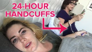 Mom And Daughter Get Handcuffed For 24 Hours · Kelsey & Kristy
