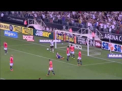 GOLS - Corinthians 5 x 3 Penapolense - Campeonato Paulista 2015