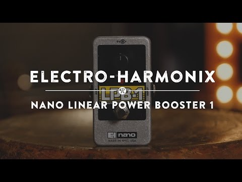 Electro Harmonix LPB-1 Power Booster Effects Pedal Boost for Guitar