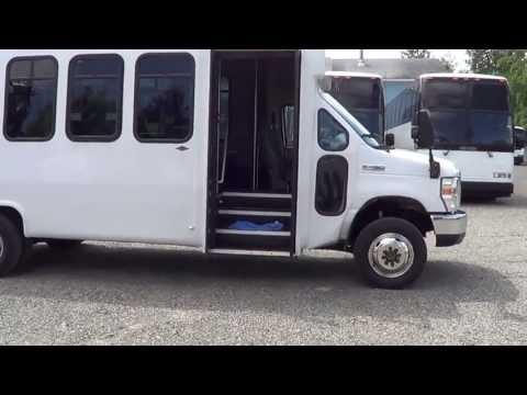 Northwest Bus Sales - 2008 Ford Diamond 4X4 25 Passenger Shuttle For Sale - S38091