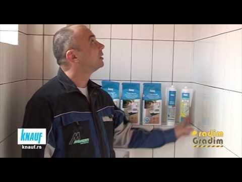 KNAUF - uputsvo za primenu - Izrada kupatila 2