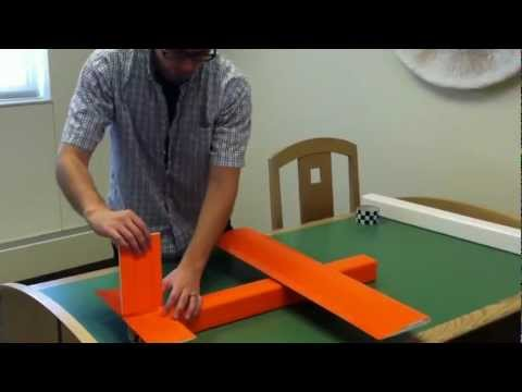 Cool and Fun Colors for RC Plane (Noob Tube): Orange and Checker Patterns