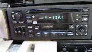 Chrysler CD radio tested in a Chrysler Dynasty