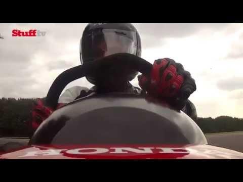 Honda's 116mph Mean Mower