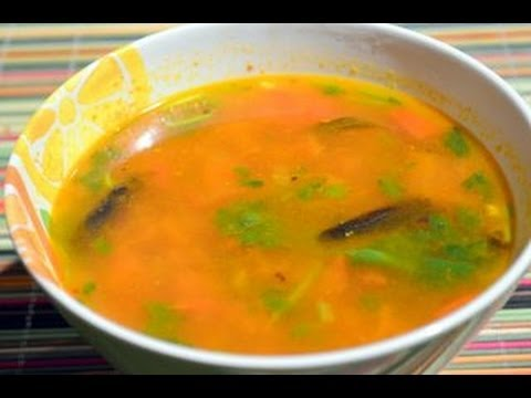 Tomato Rasam - Simple South Indian  Recipe