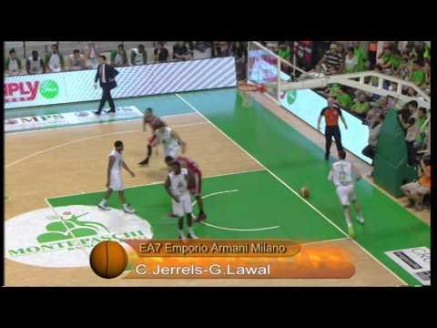 Montepaschi Siena-EA7 Emporio Armani: la Top Five di Gara6