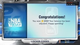NBA 2K14 Next Gen Locker Codes Free Random Item! Free VC