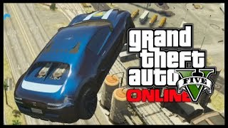 GTA 5 Funny Moments & Epic Races - HUGE JUMPS! (GTA V Stunts)