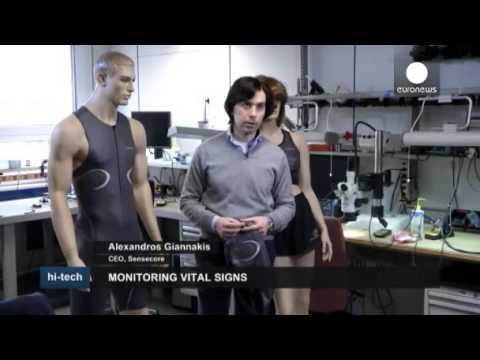 SenseCore's CEO @ Euronews Hi-Tech: Monitoring Vital Signs