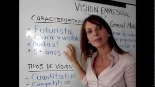 Como hacer una visión empresarial