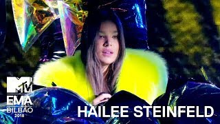 Hailee Steinfeld Performs 'Back to Life' (Live Performance) | MTV EMA 2018