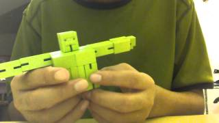 How To Put A Cubebot Back Into Cube Form