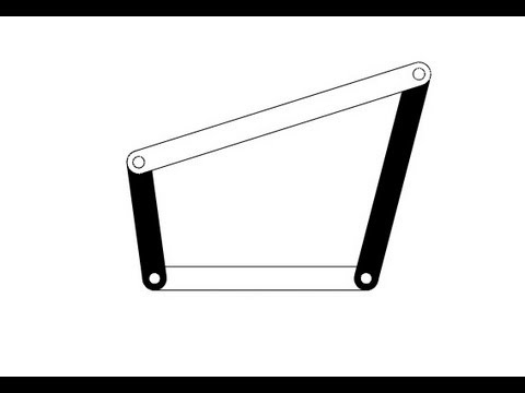 4-bar Linkage Animation Tutorial in SolidWorks