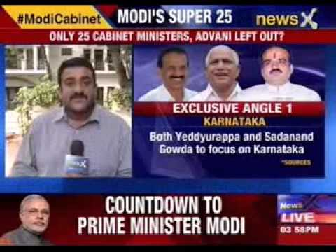 Yeddyurappa and Sadanand Gowda to focus on Karnataka