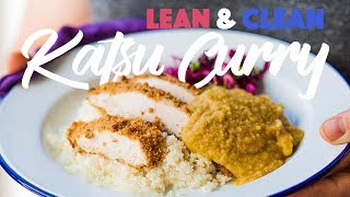 Healthy Japanese Chicken Katsu Curry Recipe. #spon