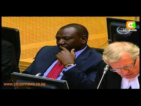 Bensouda Wants Ruto's Excusal Revoked