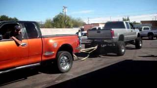 F150 Vs 2500HD, Tug-of-war 2wd