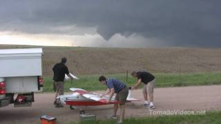 AMAZING aerial footage from the June 17th tornadoes!
