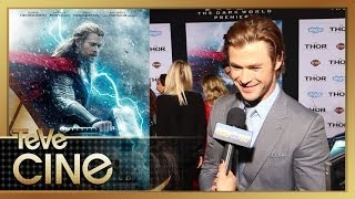 Chris Hemsworth es Thor -Anécdotas Del Set