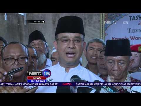 Anies Yakin Proker Rumah DP 0 Rupiah akan Berjalan Baik - NET16