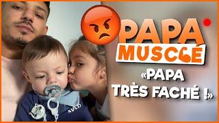 GROSSE BÊTISE DE VICTORIA !!! #PapaMusclé Ep4