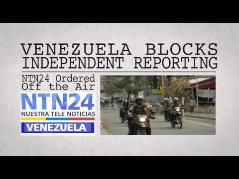 #FreeThePress Venezuela