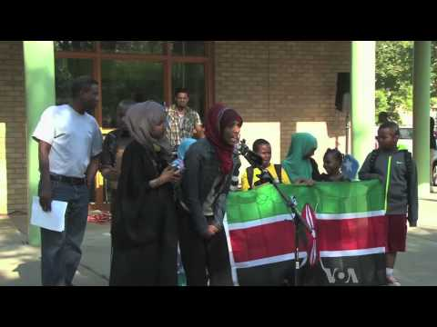 Minnesota Somalis Demonstrate Against Al-Shabab