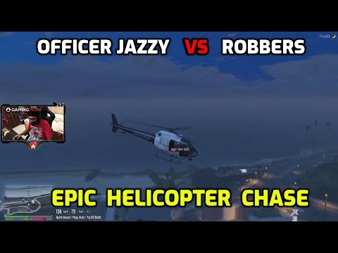 Sikh Warrior First Time Helicopter Chase 🔥 🔥  - GTA 5 Funny Highlights #11