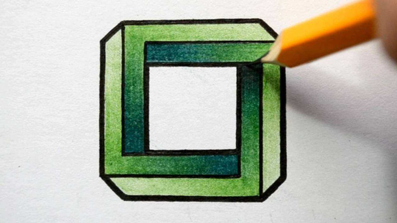 Optical Illusions Square How to Draw an ...