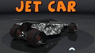 Trackmania 2 Canyon Let's Play With Mods Jet Car And
