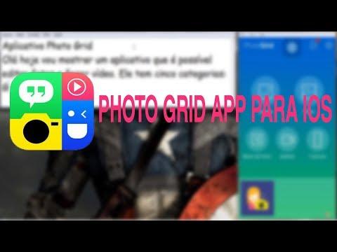 Photo Grid - Aplicativo Para Montagem de Fotos e Vídeos Para iOS ♡ ♥