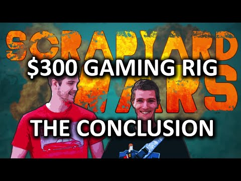 $300 Budget Gaming PC Challenge - Scrapyard Wars Episode 1c