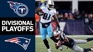 Titans vs. Patriots   NFL Divisional Round Game Highlights