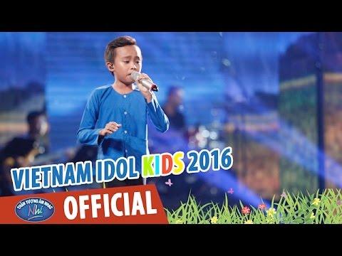 VIETNAM IDOL KIDS 2016 - GALA 4 - SA MƯA GIÔNG - HỒ VĂN CƯỜNG