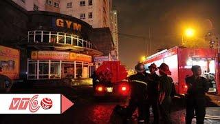 Cháy lớn chung cư Vimeco Trung Hòa, Cầu Giấy | VTC
