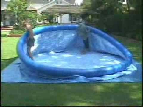 Montage piscine intex image gallery piscine montage for Youtube cash piscine
