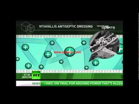 VitaVallis : A Miracle Bandage (Russia's New Invention)