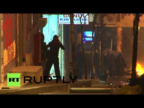 Turkey: Istanbul's streets fiery as rage over Elvan's death continues