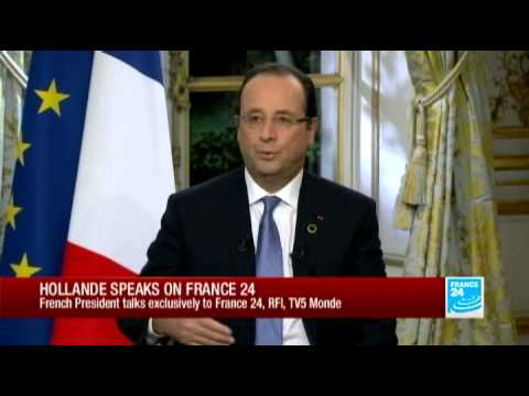 Hollande backs growing role for African peacekeepers - Exclusive Interview