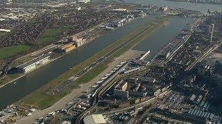 Unexploded World War 2 bomb shuts London City Airport | ITV News