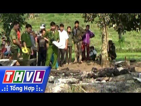THVL | Cháy chòi rẫy tại Quảng Ngãi, một người đàn ông thiệt mạng