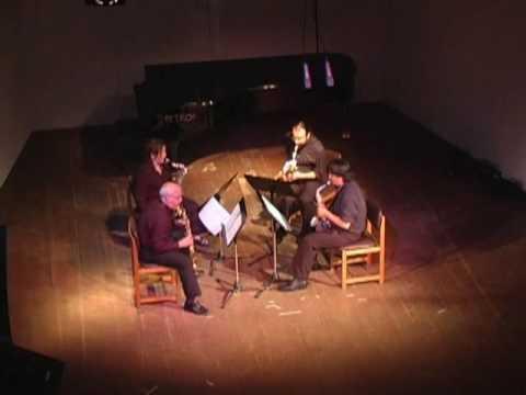 El Cuarteto Villafruela interpreta Housing Project de William Ortiz