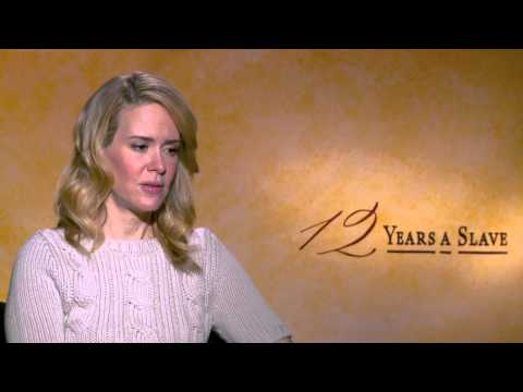 12 Years a Slave: Sarah Paulson Official Movie Interview