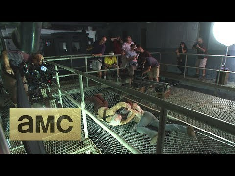 (SPOILERS) Making of Episode 405 The Walking Dead: Internment