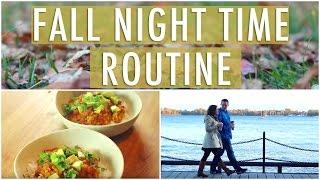 Relaxing Fall Night Time Routine