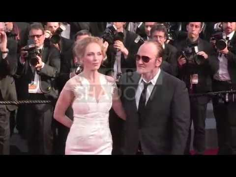 CANNES FILM FESTIVAL 2014 - Uma Thurman and Quentin Tarantino attend the Closing Ceremony