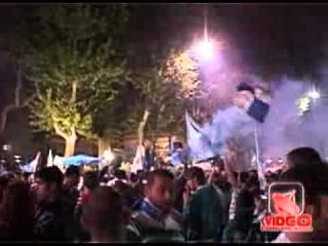 Napoli - Festeggiamenti per la Coppa Italia (live 21.05.12)