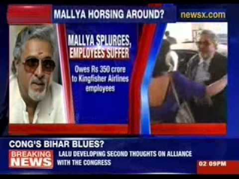 Vijay Mallya exposed: Money for horse, not employees?