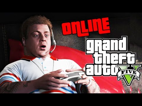 GTA ONLINE - FIRST LOOK - (GTA 5 online gameplay)