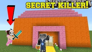 Minecraft: FIND THE KILLER!!! - Trick Or Treat Find The Button - Custom Map